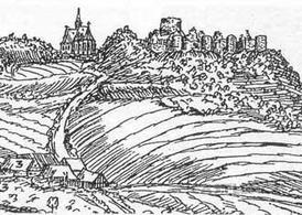 Rytina hradu Prácheň